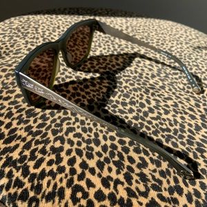 Matsuda Sunglasses with Gold Mirror Lenses